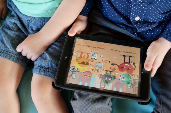 Eco Boys and Girls | Interactive Books for iBooks #EcoBoysAndGirls ad