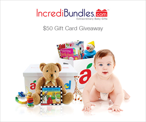 $50 Baby Gift Card Giveaway from IncrediBundles.com and @eclecticmommy #ad