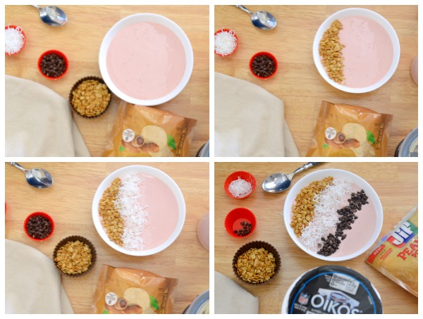 PB&J Smoothie Bowl. #recipe ad #MySmoothie