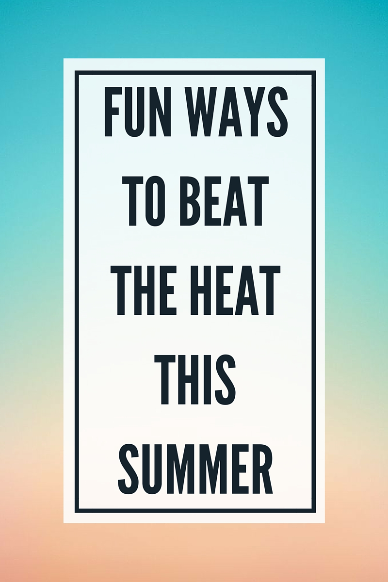 Beat the Heat Summer Fun Ideas | Plus a Chuck E. Cheese's #giveaway #win