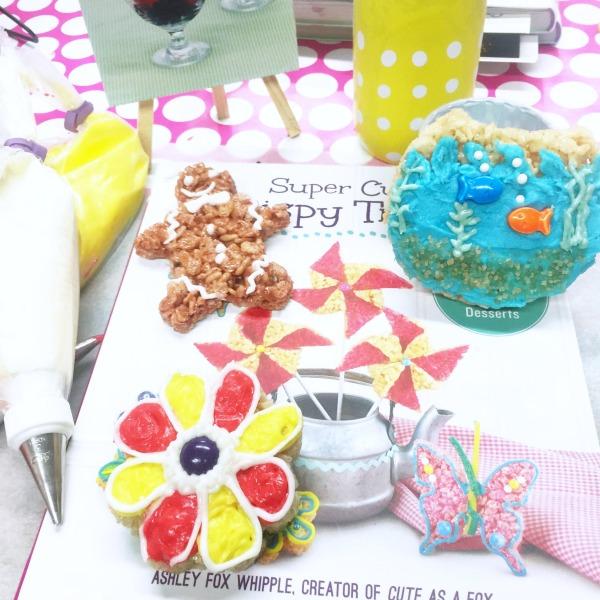 Super Cute Crispy Treats | Over 100 Creative Ideas and Recipes