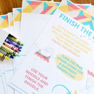 Finish the Doodle   Story Cubes   Printable Boredom Buster Activity Sheets   Kick the summer boredom slump with these sets all ready for creativity and adventure.