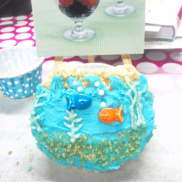 Finding Dory Fishbowl Crispy Treats  