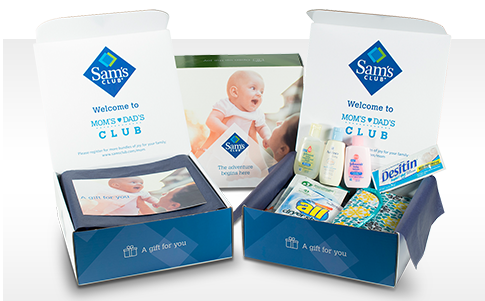 Sam's Club Mom's & Dad's Club Exclusive Member offers and samples.