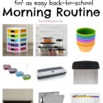 Back to School Morning Routine Tips