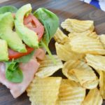 California Open Faced Sandwich