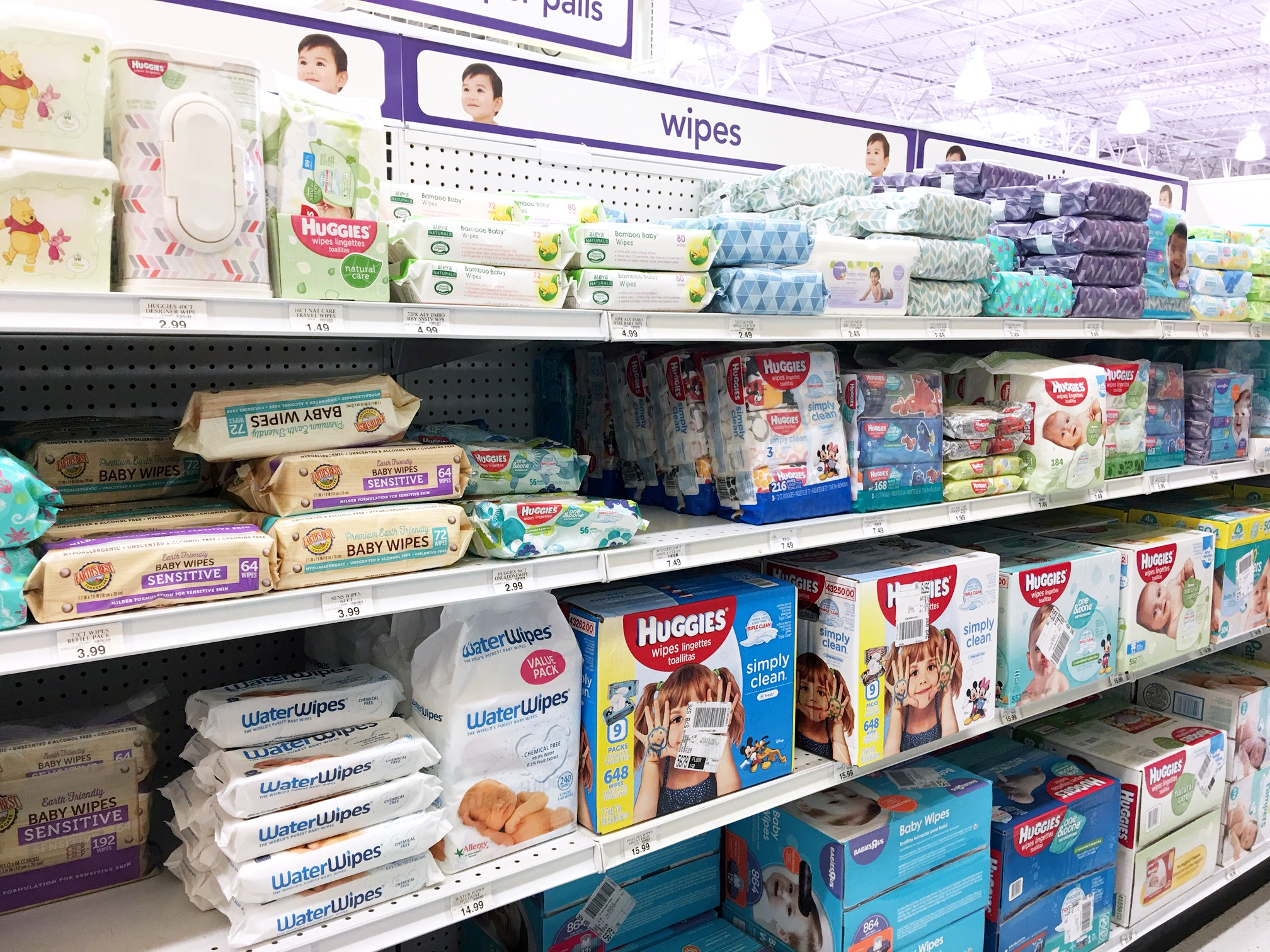 "WaterWipes at Babies""R""Us. #ad #WaterWipesBRU #IC"
