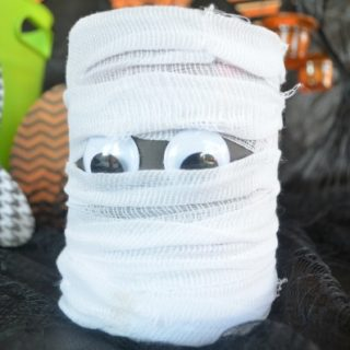 Mummy Paint Cans | #DIY Tutorial | DIY #Halloween