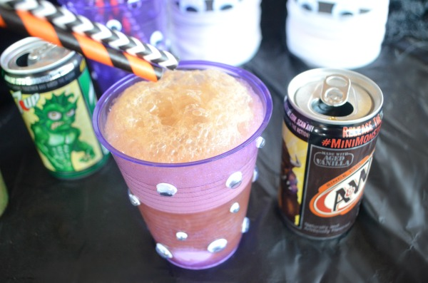 Monster Halloween Party Cups