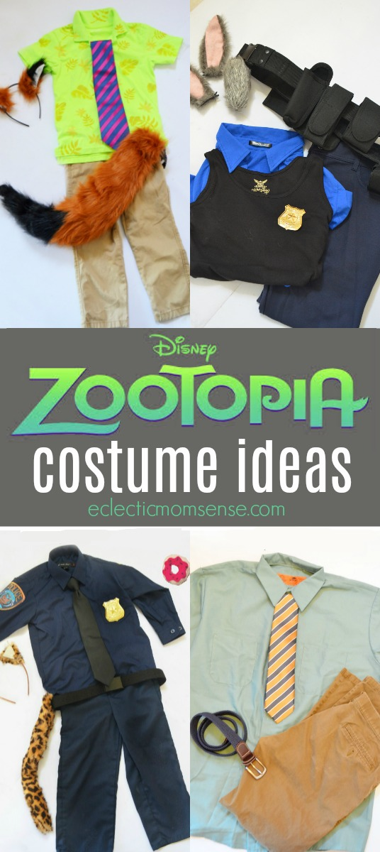 Disney ZOOTOPIA Costume Ideas! | Easy idea for group Halloween costumes.