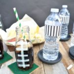 Football Coasters and DIY Drink Containers