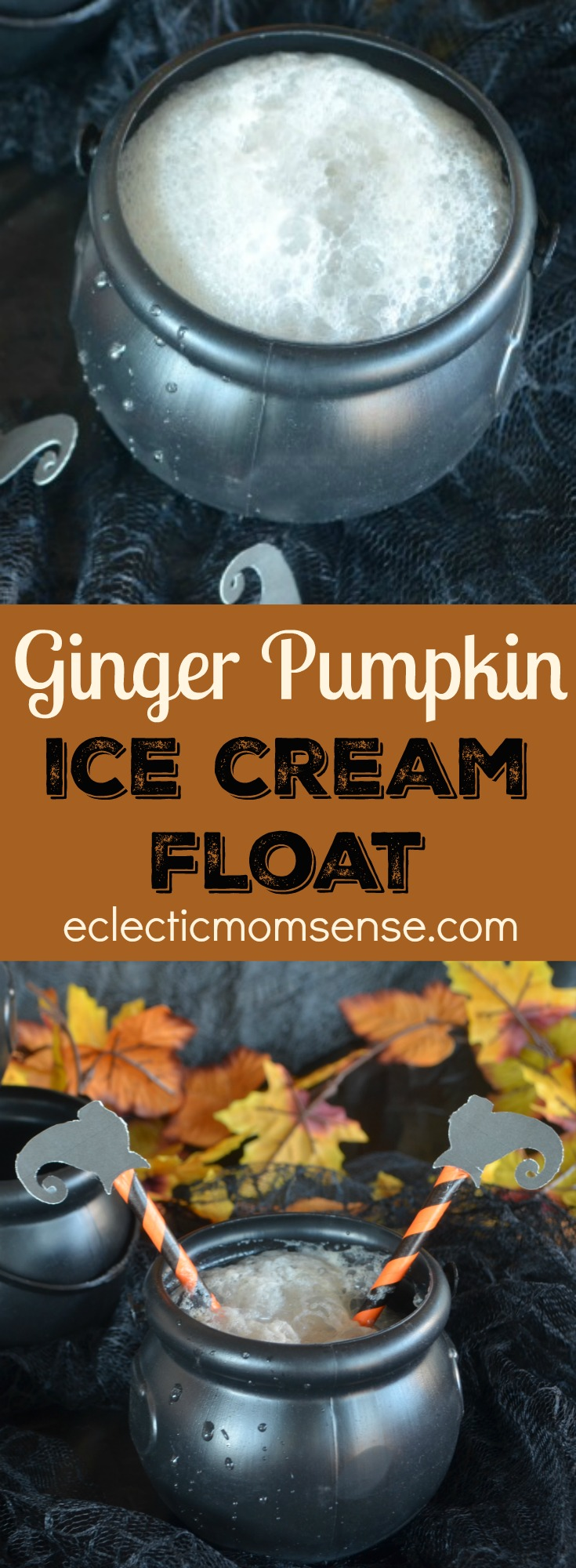 Witches Brew | Pumpkin Ginger Ice Cream Float