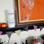 Glittery Halloween Banner