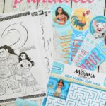 Moana Printable Coloring Sheets and Activities