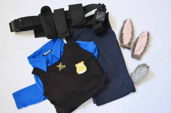 Judy Hopps Costume from ZOOTOPIA.