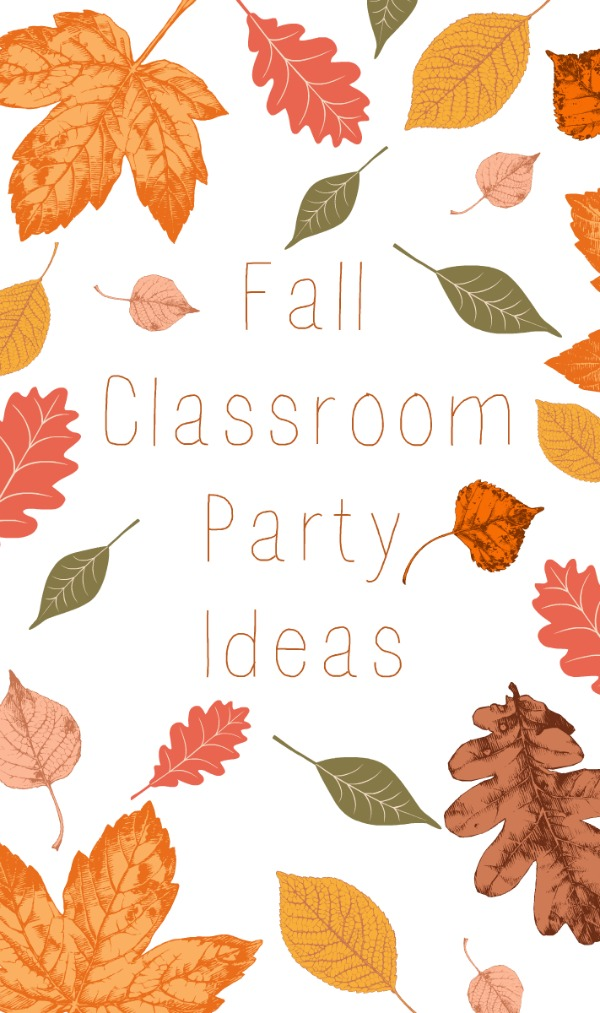 Classroom Party Ideas ~ Fall classroom party ideas eclectic momsense