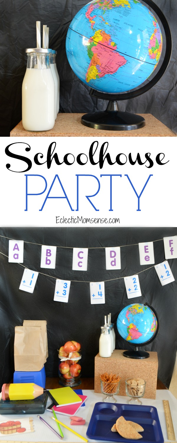 Adorable Schoolhouse Party Theme