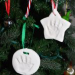 Baby's First Holiday Keepsakes: Handprint Ornament and Stocking