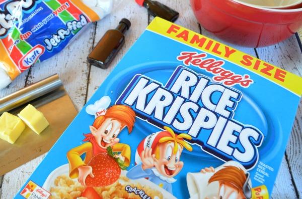 Peppermint Rice Krispies® Treats