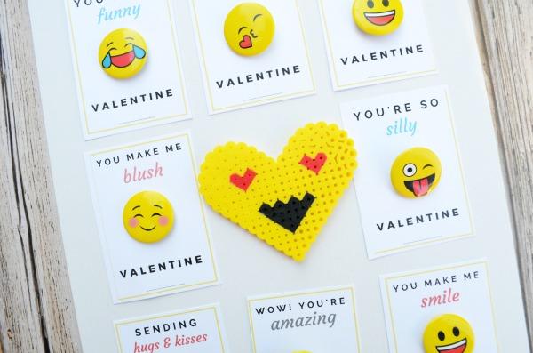 Printable Emoji Valentine