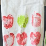 Hand-Painted Flour Sack Towels