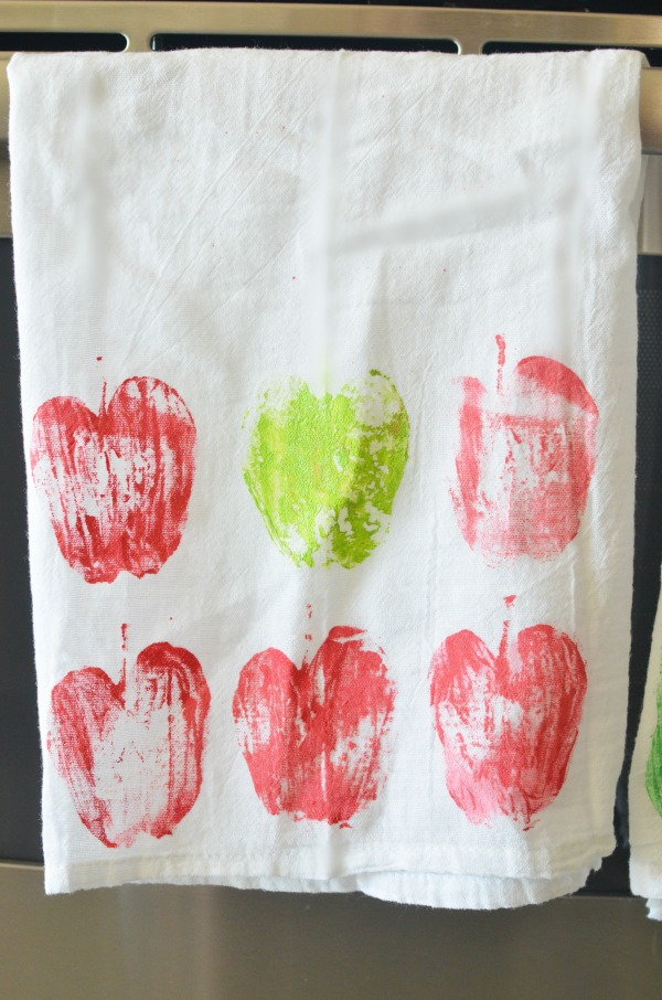 Hand-painted Kitchen Towels