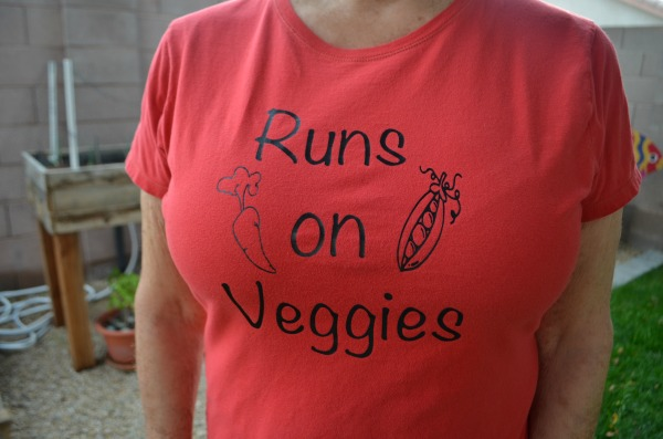 The secret to long lasting heat transfer shirts. Plus a fun garden themed shirt design.