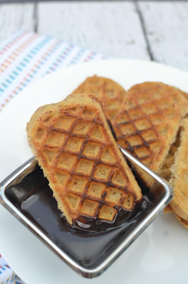 Chocolate Hazelnut Syrup just 2 ingredients #EggoMyWay #ad