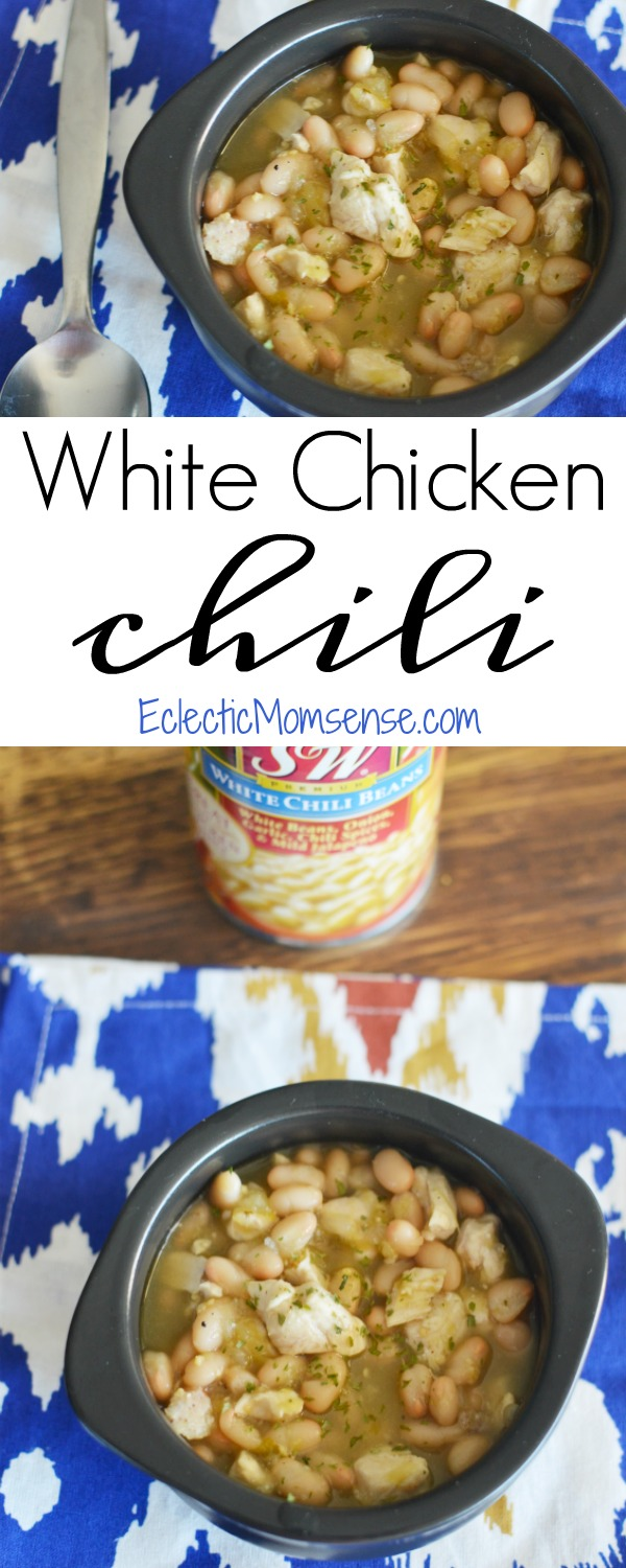 White Chicken Chili recipe made easy with @SWBeans. #SWBeans #IC #ad`
