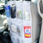 DIY Car Seat Organizer + How to Change Your Cabin Air Filter