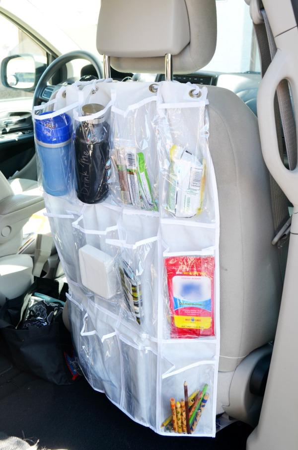 DIY Pocket Car Organizer
