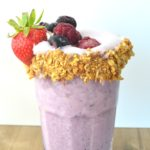 Berry Freakshake | High Protein Low-Fat Breakfast Smoothie
