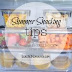Tips for Healthy Summer Snacking