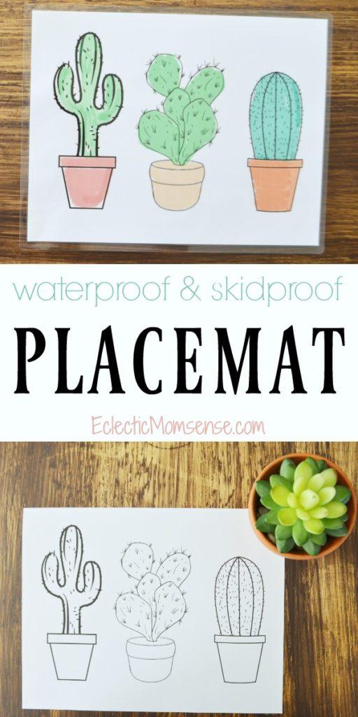 Cactus Placemat