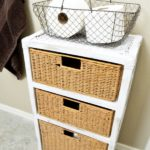 Wicker Drawer Makeover