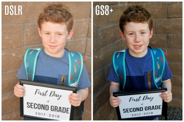 GS8+ vs. a DSLR