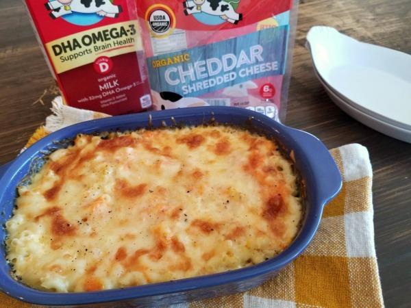 Hidden Veggie Mac and Cheese.