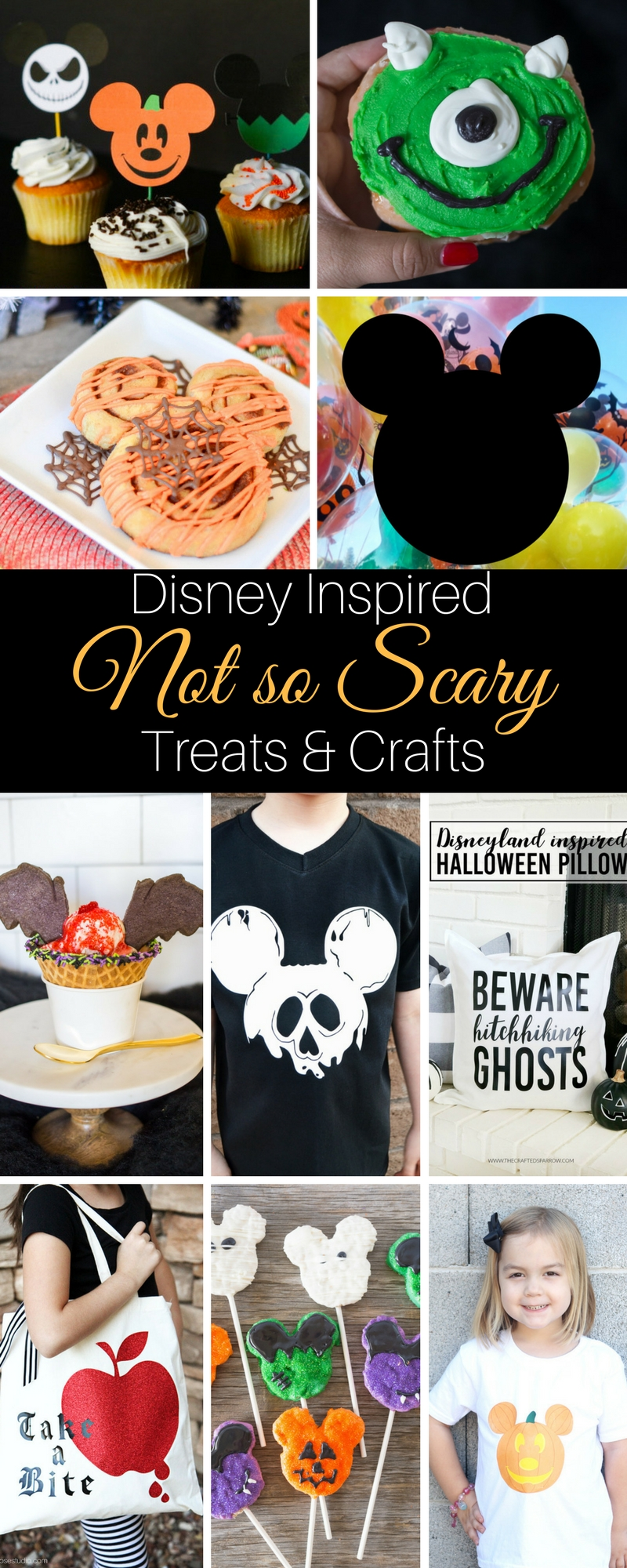 Disney not so scary treats and crafts
