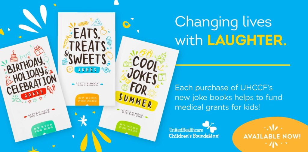 Children's Joke Books with a cause