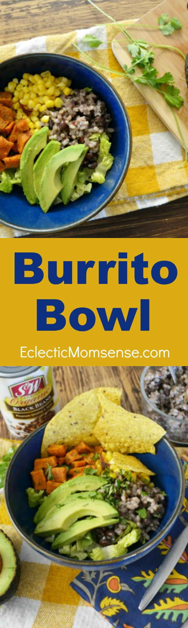 Tasty and filling Burrito Bowls. Perfect  at home home and on the go. #recipe