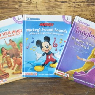 Disney music storybooks