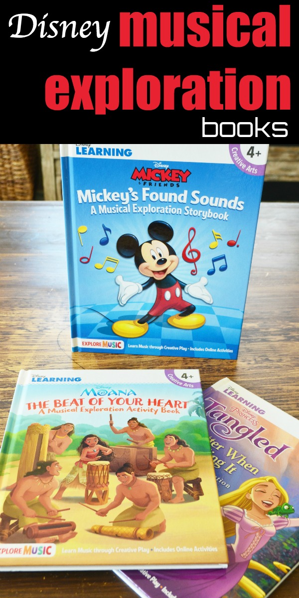 Musical exploration through story, imaginative play, and creativity.  Join your favorite Disney character on an adventure.