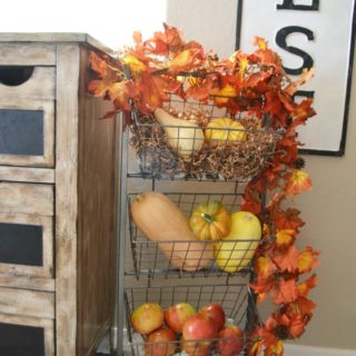 tiered fruit and veggie basket