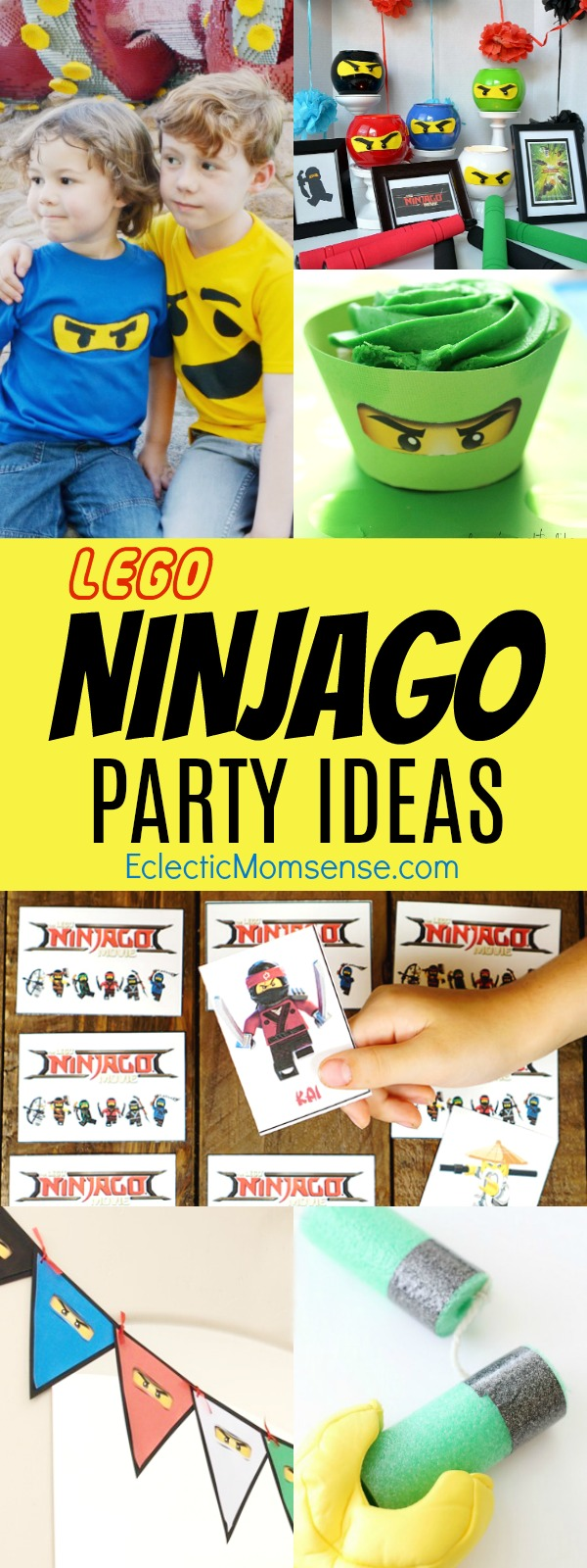 The LEGO® NINJAGO™ Movie | Party Ideas, crafts, and games.