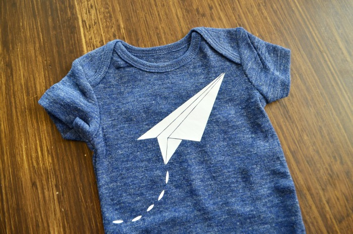 Paper Airplane Templates | Paper Airplane Onesie Free Design File Eclectic Momsense