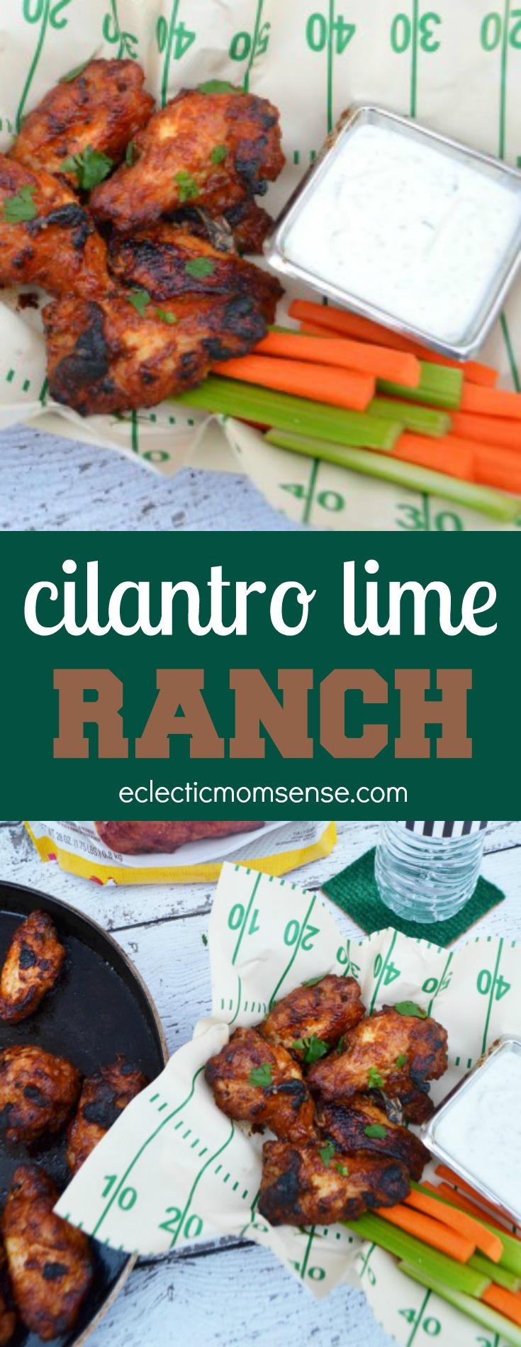 Cilantro Lime Ranch Dip