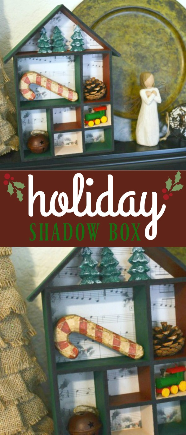 holiday shadow box