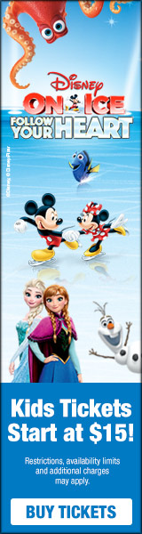 Discount Code for Disney on Ice Follow Your Heart.  | Phoenix January 18the-21st!