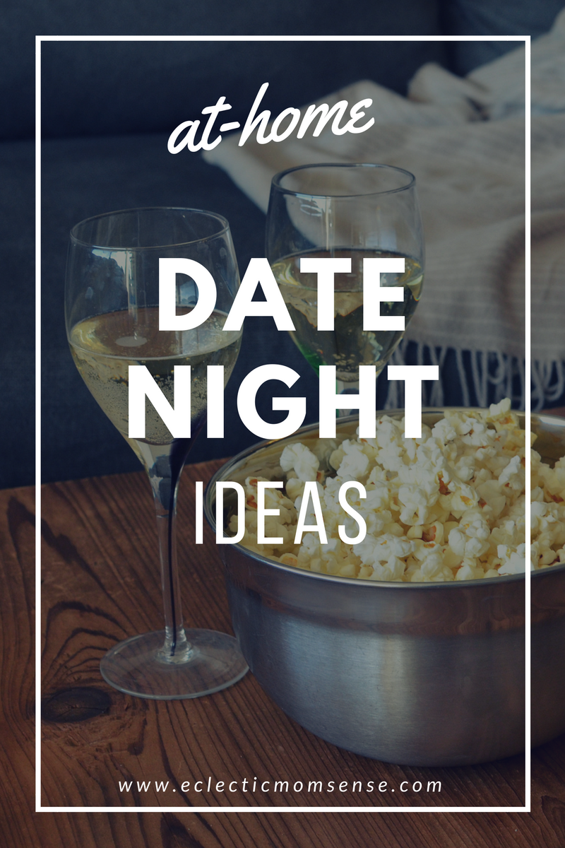 At-Home Date Night Ideas- Grab these fun ideas for capturing a little couple time after the kids are tucked in.