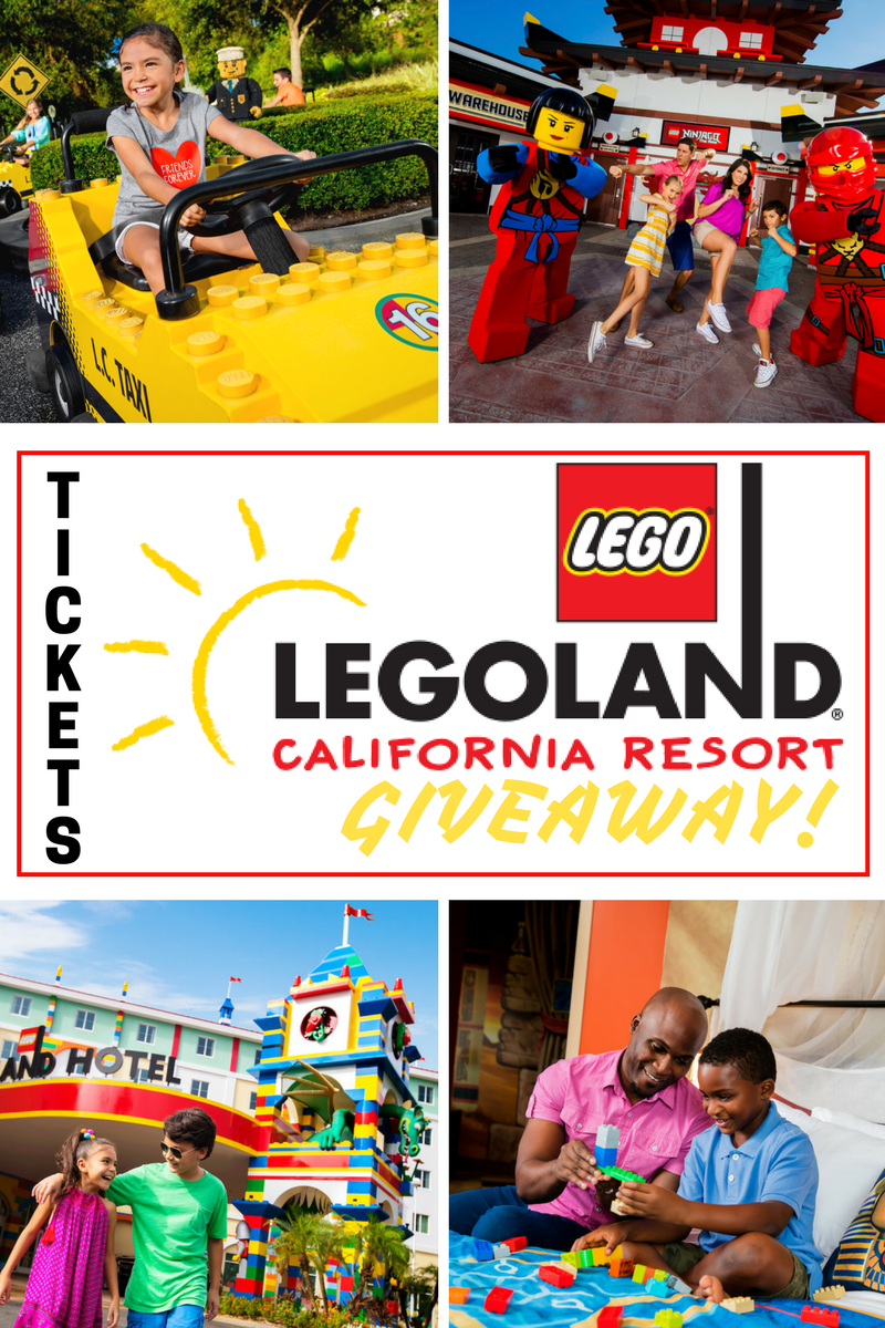 Kids go FREE LEGOLAND California.  Grab the deal plus enter for a chance to WIN a family 4 pack of tickets